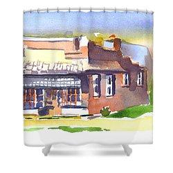 Av Art Studio Shower Curtain by Kip DeVore