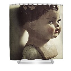 Shower Curtain featuring the photograph Ava by Amy Weiss