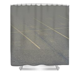 Available Parking Shower Curtain by Kellice Swaggerty