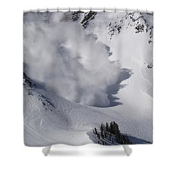 Avalanche Iv Shower Curtain