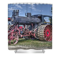 Avery 40 Hp  Shower Curtain
