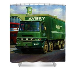 Avery's Erf Lv Shower Curtain