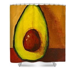 Avocado Palta 7 - Modern Art Shower Curtain