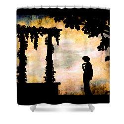 Awaiting The Dawn Shower Curtain
