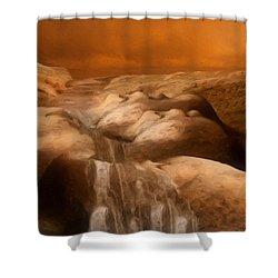 Awaken Shower Curtain by Jack Zulli