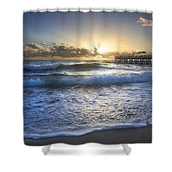 Awakening Of The Soul Shower Curtain by Debra and Dave Vanderlaan