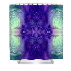 Awakening Spirit - Pattern Art By Sharon Cummings Shower Curtain by Sharon Cummings