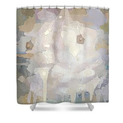 Awakening Shower Curtain by Steve Mitchell