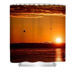 Awakening Sun Shower Curtain