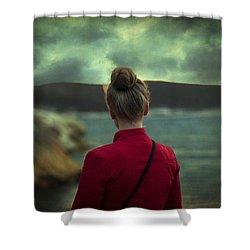 Awakening Shower Curtain by Taylan Apukovska