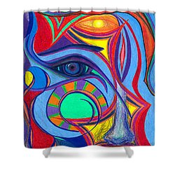 Awakening To Thy True Self Shower Curtain by Daina White