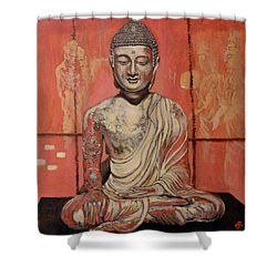 Awakening Shower Curtain by Tom Roderick