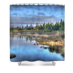 Awakening Your Senses Shower Curtain by Shelley Neff