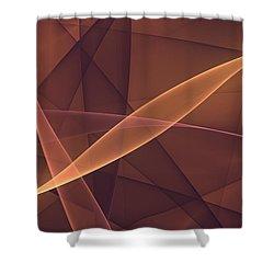 Awareness Shower Curtain by Gabiw Art