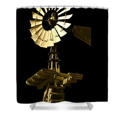Awesome Aermotor Shower Curtain