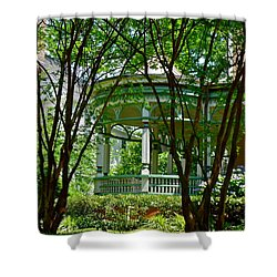 Awesome Victorian Porch Shower Curtain