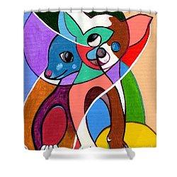 Ay Chihuahua Shower Curtain