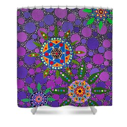 Ayahuasca Vision - The Healing Power Of Plants Shower Curtain