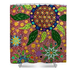 Ayahuasca Vision - The Opening Of The Heart Shower Curtain