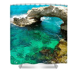 Ayia Napa In Cyprus Shower Curtain