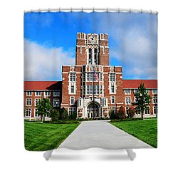 Ayres Hall Shower Curtain