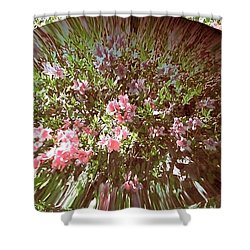 Azalea Bouquet Shower Curtain