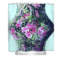 Azalea Vase Shower Curtain