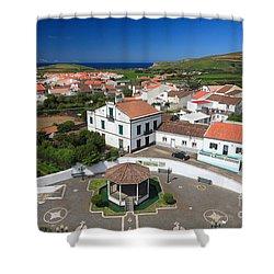 Azorean Parish Shower Curtain by Gaspar Avila