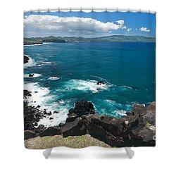Azores Islands Ocean Shower Curtain by Gaspar Avila