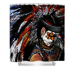 Aztec Celebration Shower Curtain
