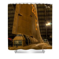B-17 Tail Gunner Shower Curtain