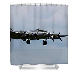 B-17 Yankee Lady Shower Curtain