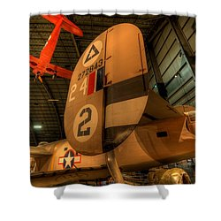 B-24 Liberator Tail Shower Curtain