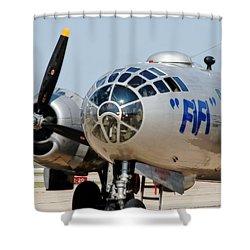 B-29 Bomber Fifi Shower Curtain