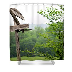B-ball History Shower Curtain