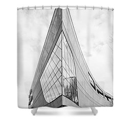 B Sharp Shower Curtain