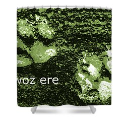 Ba Woz Ere Shower Curtain