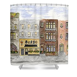 Babbo @ Waverly Place Shower Curtain