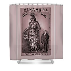 Babil And Bijou - Giant Amazon Queen Shower Curtain
