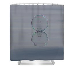 Baby Bubble Shower Curtain