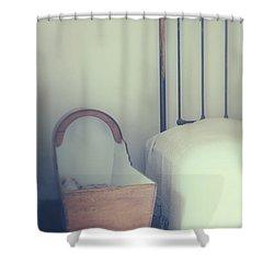 Baby Crib Shower Curtain by Joana Kruse