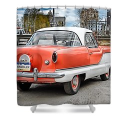 Shower Curtain featuring the photograph Baby Nash by Dyle   Warren