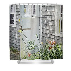 Back Door Nantucket Shower Curtain