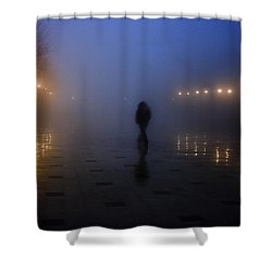Back Home Alone Shower Curtain