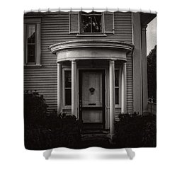 Back Home Bar Harbor Maine Shower Curtain by Edward Fielding