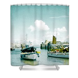 Back In The Olden Days Shower Curtain by Steve Taylor
