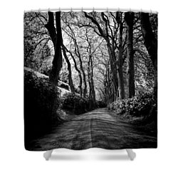 Back Road East 2 Shower Curtain