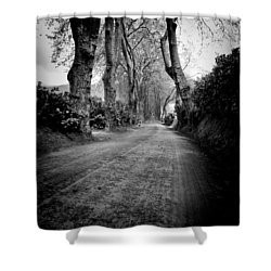 Back Road East Shower Curtain