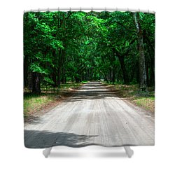 Back Roads Of South Carolina Shower Curtain