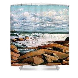Back Shore Gloucester Shower Curtain